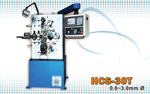 CNC coiling machines